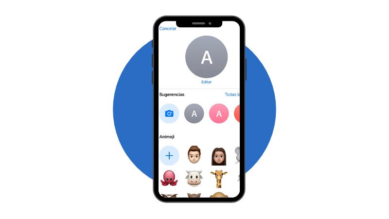 Truco iPhone cambia la foto de perfil de los contactos