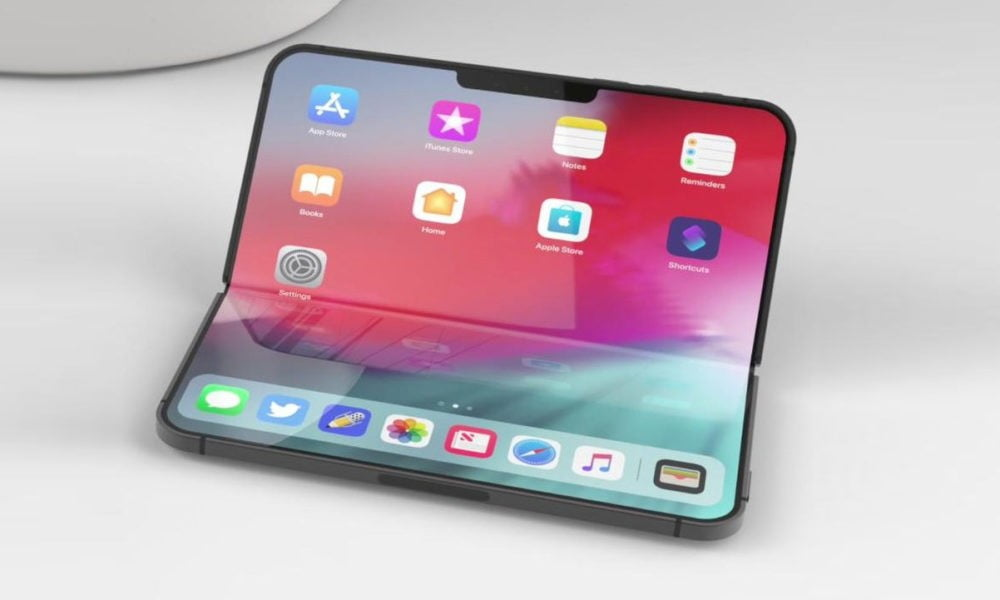 iphone plegable con bisagra en 2020 o 2021