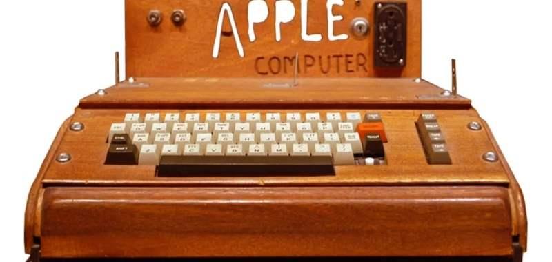 primer ordenador de apple