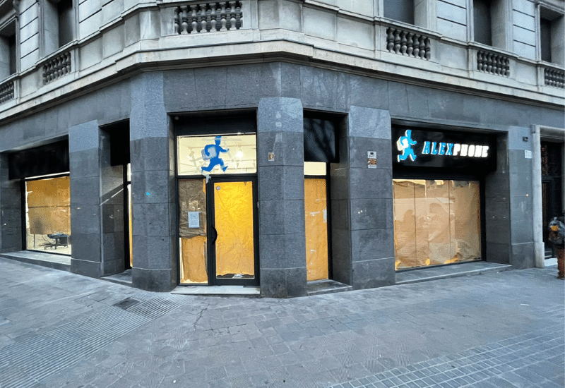 tienda alexphone barcelona